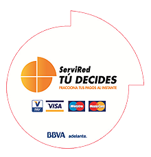 "Financiación Servired ""Tu decides"""